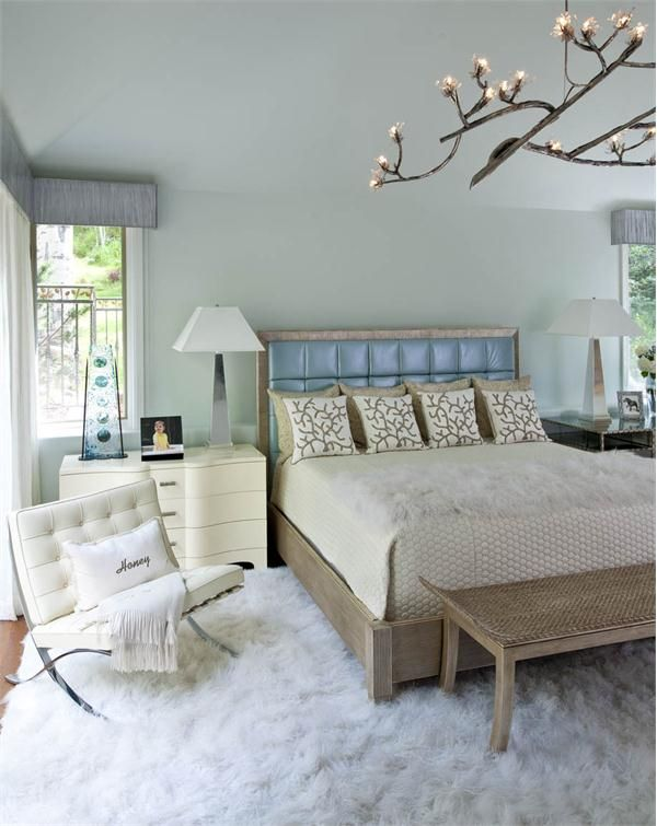 Contemporary Modern Retro Bedroom By Mary Anne Smiley