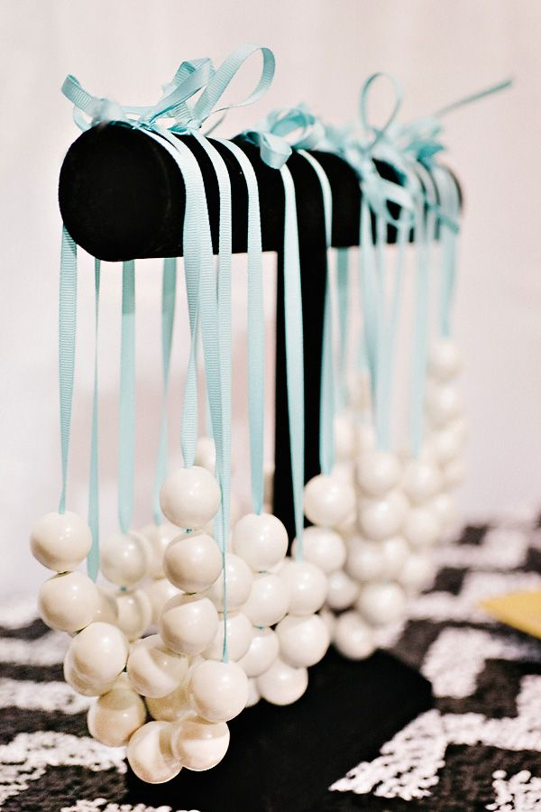 candy gu;mball necklaces | pearl necklace made out of gumballs
