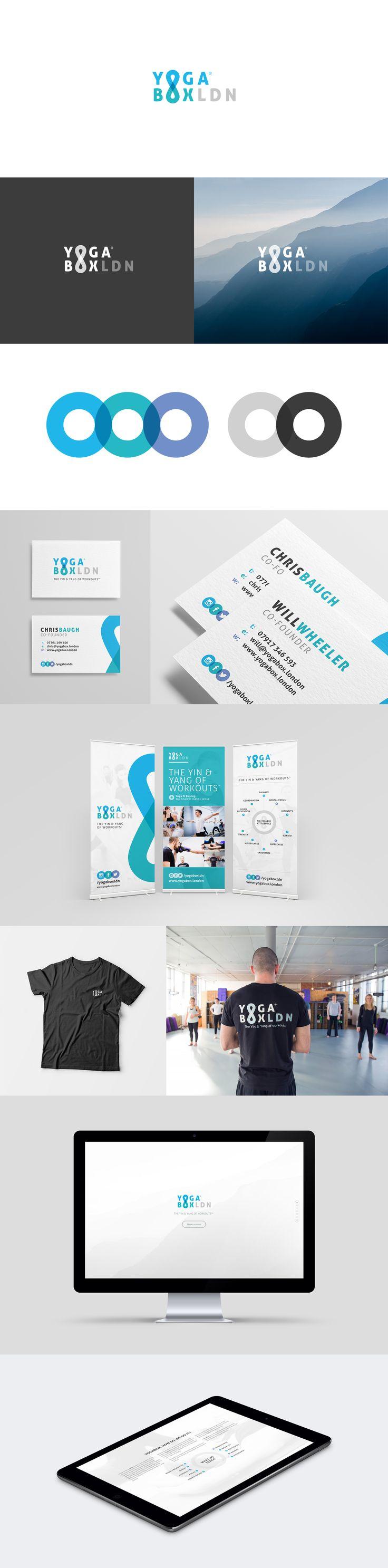 YogaBoxLDN - Branding, Marketing Materials and Website; http://be.net/gallery/36977907/YogaBoxLDN
