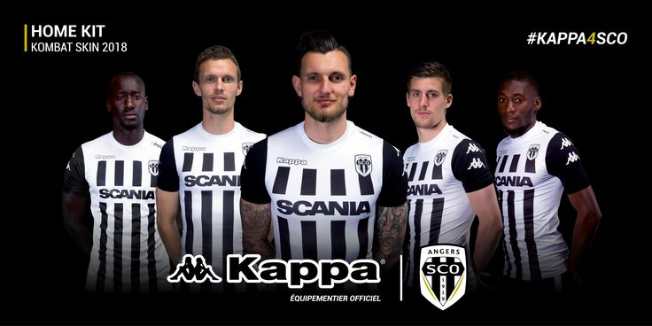 Equipement 2K17/2K18 domicile Angers #Kappa #FanEngagment #9ine @Angers