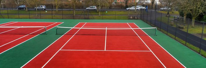 Tennis Court Dimensions in Cheshire | Tennis Courts Size in Cheshire | LTA | ITF | SAPCA : Tennis Court Contractors