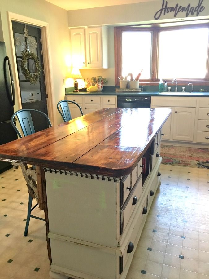 how i got my very own island and you can too diy kitchen island dresser kitchen island on kitchen island ideas diy id=92556