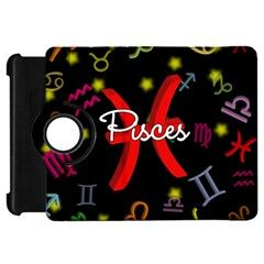 Pisces Floating Zodiac Sign Kindle Fire HD Flip 360 Case by theimagezone