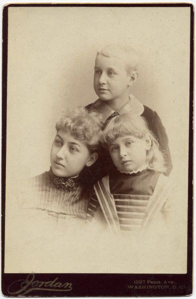 "Mary ""Mamie"",  Abraham "" Jack""  and Jessie Lincoln :the children of Robert Todd Lincoln; grandchildren of Abraham Lincoln"