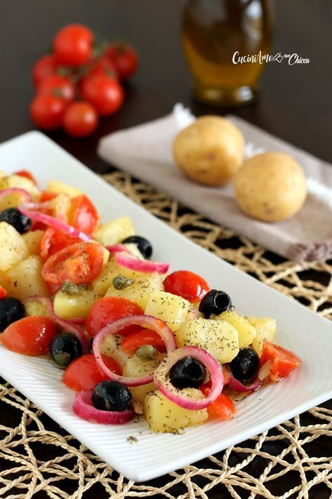 Insalata Pantesca ricetta veloce