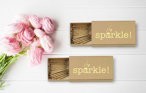Wedding sparklers add a touch of, well, sparkle to any wedding venue. If you're planning an evening wedding these are a big day must-have.