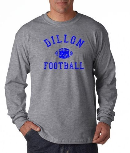 DILLON-PANTHERS-Football-Friday-Night-Lights-TV-Show-Long-Sleeve-Tee-Shirt
