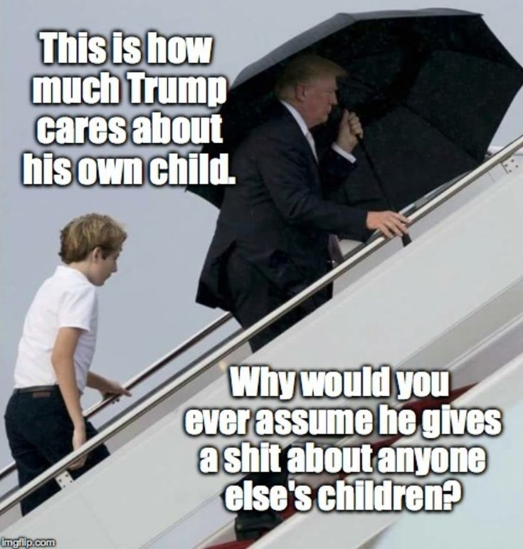 He's a Poor Excuse for a Father, Husband, PRESIDENT and Definitely A Poor Excuse For A Human Being.