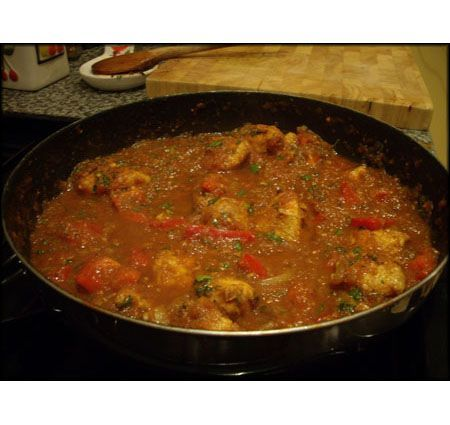 A great recipe for a fresh tasting, home-made jalfrezi