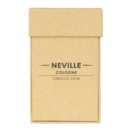Cowshed Neville Cologne Bottle Boxed 100ml. Natural kraft gift box.