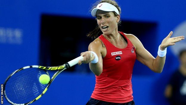 Welcome to sportmasta's Blog.: Johanna Konta loses to Klara Koukalova in Linz qua...