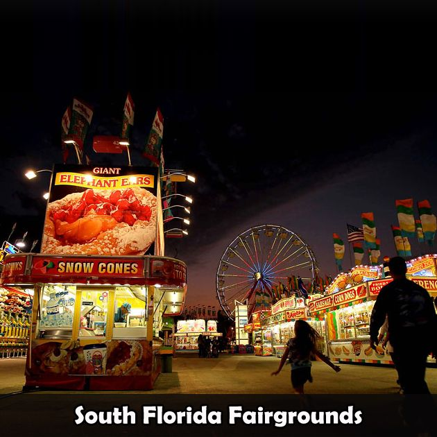 The South Florida Fairgrounds. Home to the South Florida Fair, gun shows, garage sales, athletic events, local beer fests and more!