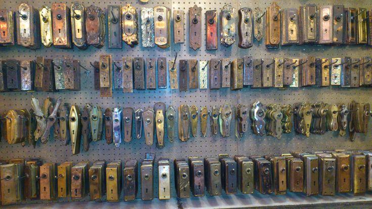 old door latch sets