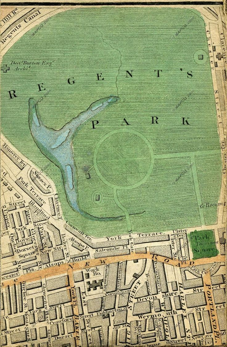 Regent's Park, London Showing the lake where on January 15th 1867 the frozen lake gave way and 150 - 300 people slipped into the icy waters 40 died