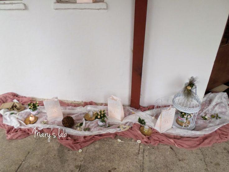 βάπτιση ερατώ σάπιο μήλο δαντέλα εξωτερικός στολισμός κλουβιά φανάρια χάρτινα τριαντάφυλλα