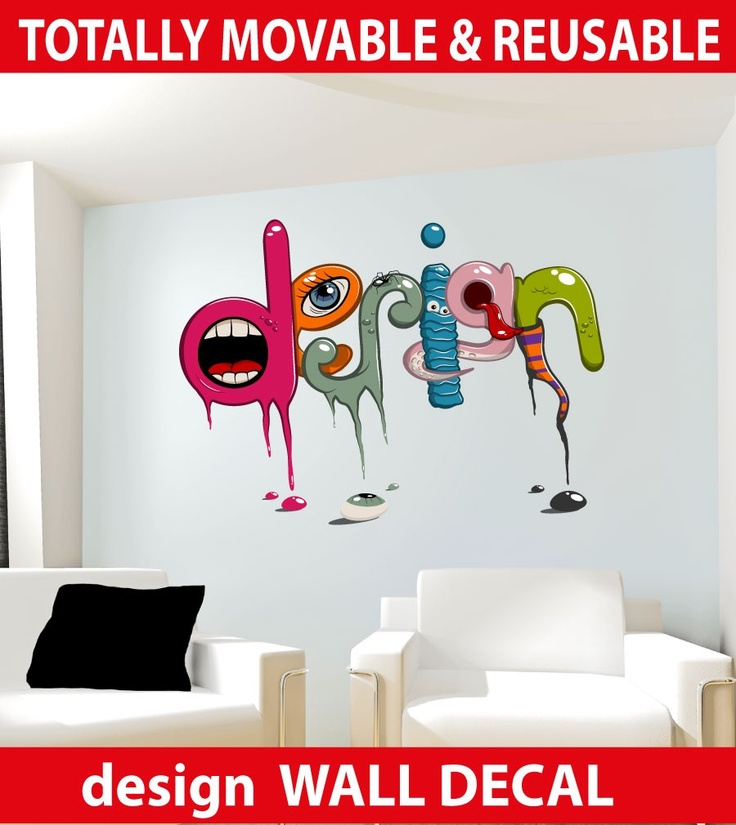 Zombie Design Quote Wall Stickers - Totally Movable, $8.95 (http://www.wholesaleprinters.com.au/design-quote-wall-stickers-totally-movable)