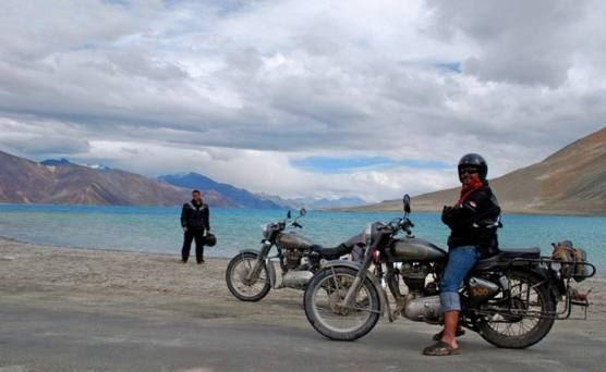Thrilling bike trip to Ladakh