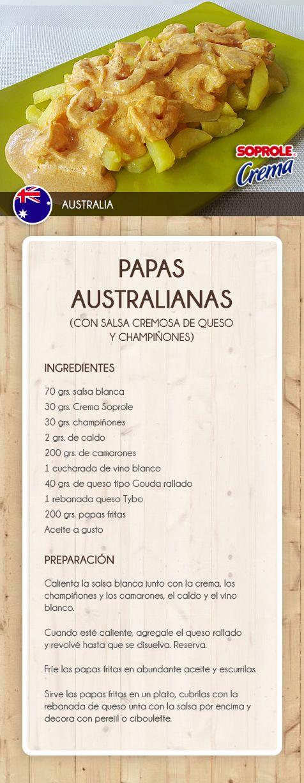 Papas Australianas