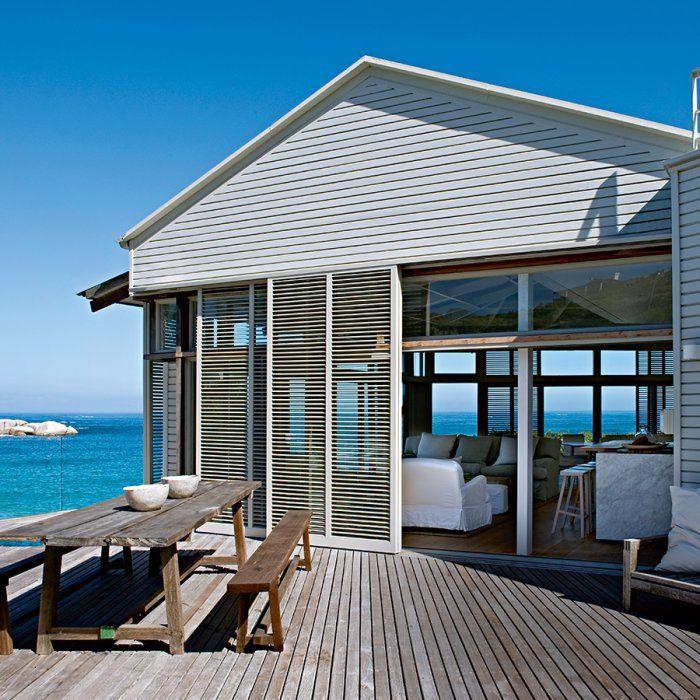 Un cottage sur l'océan en Afrique du Sud