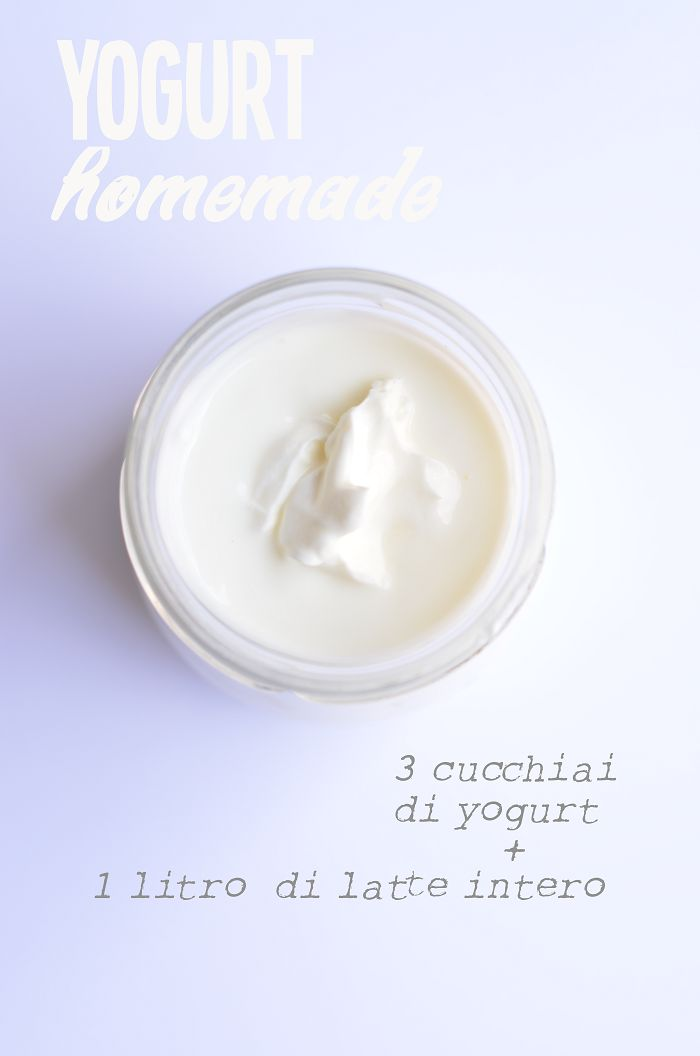 Yogurt fatto in casa (senza yogurtiera)