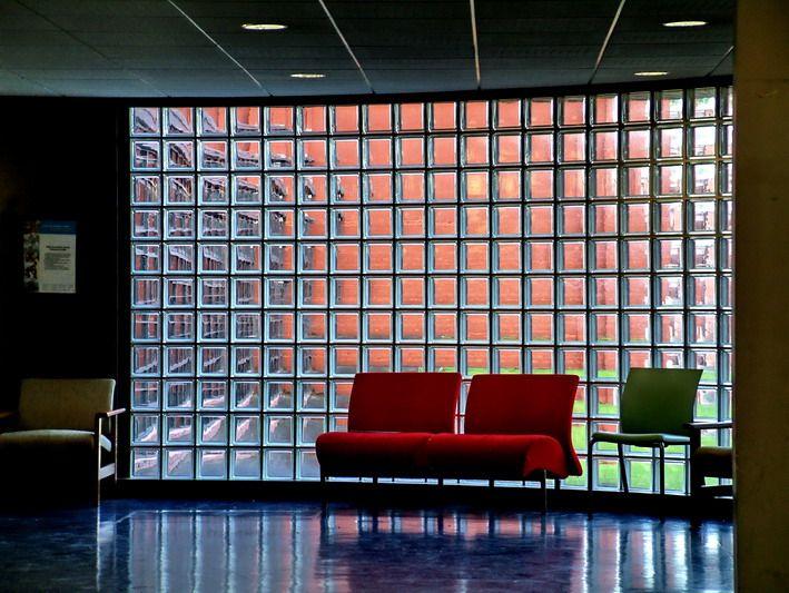 Decoración con ladrillos de cristal #decoracion #arquitectura #diseñoInterior #LadrilloCristal #HomeDecor #InteriorDesign