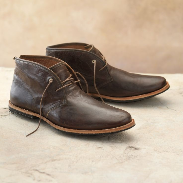 dark brown timberland chukka