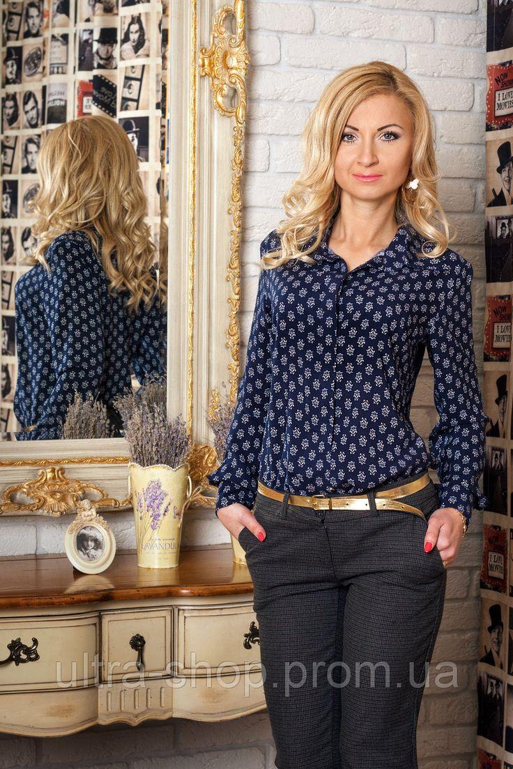 Рубашка женская размеры 42-52 №343, фото 1