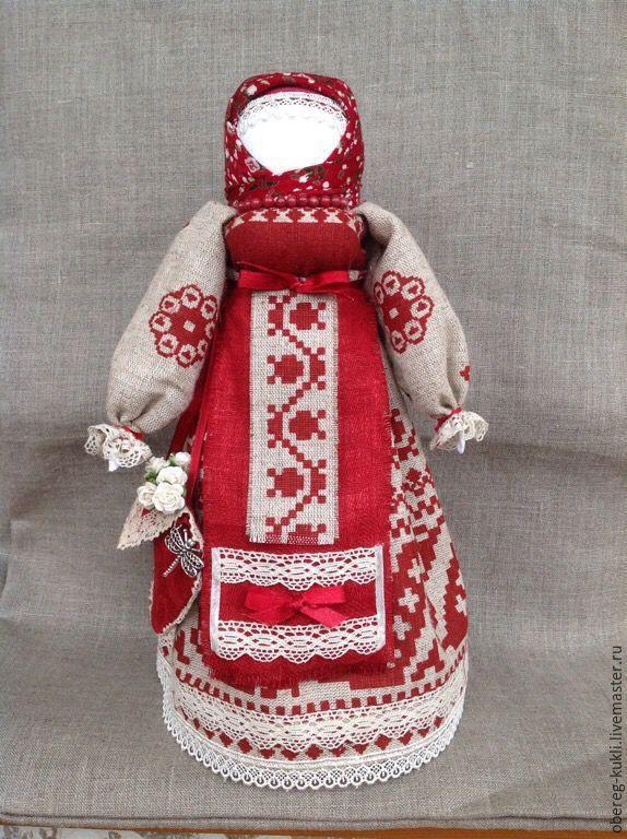 """Купить Обережная куколка """" Успешница"""" - обережная кукла, кукла оберег, кукла…"""