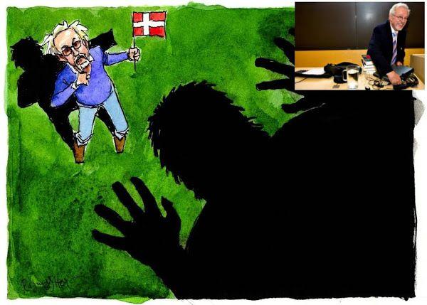 MIGRANTS.  Un éminent psychologue danois avertit : L'immigration du moyen-orient à faible QI  « menace la démocratie » et mènera à la « guerre civile »
