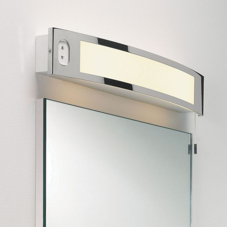59 best images about bathroom mirror lights on pinterest bari palermo and bathroom wall Polished chrome bathroom mirrors