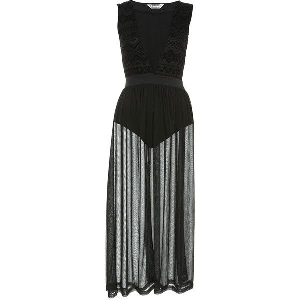 Petites Flock Burnout Maxi (195 BRL) ❤ liked on Polyvore featuring dresses, gowns, vestidos, long dress, black, maxi dress, petite evening gowns, petite long dresses, aztec dress and petite maxi dresses