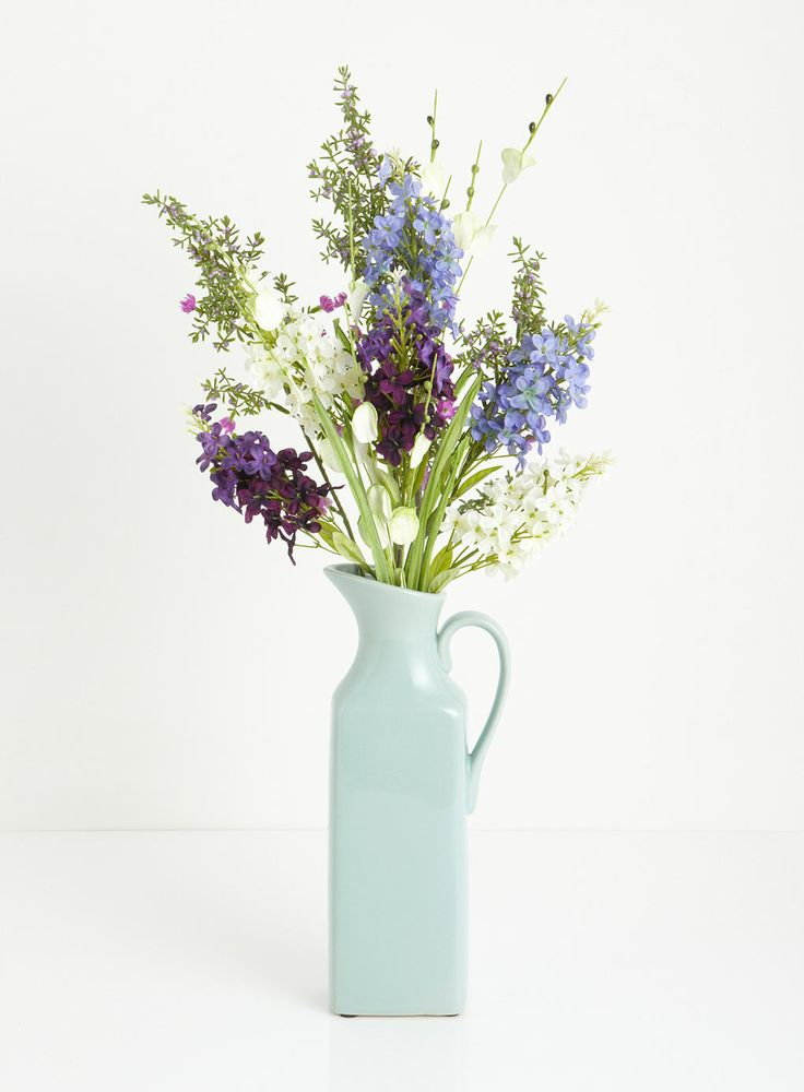 wild flower jug, BHS