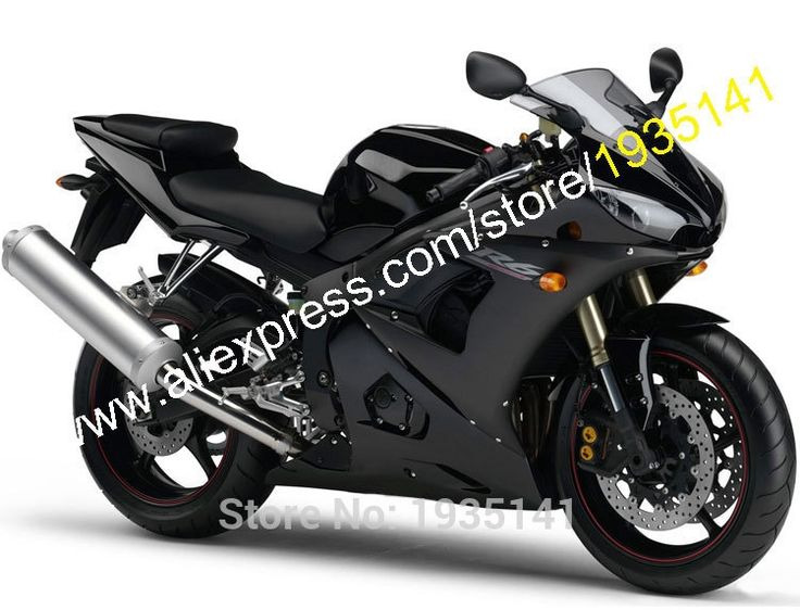 417.05$  Watch here - Hot Sales,For Yamaha YZF R6 05 Parts YZF-R6 2005 YZF600 YZFR6 Black Sportbike Aftermarket Motorcycle Fairing (Injection molding)  #buyonlinewebsite