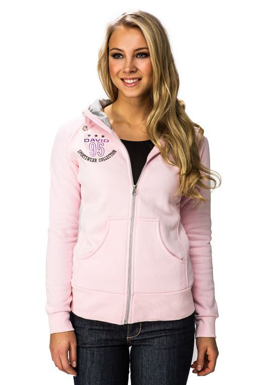 David Authentic Hood Jacket, pink 99,00 € www.fashionstore.fi
