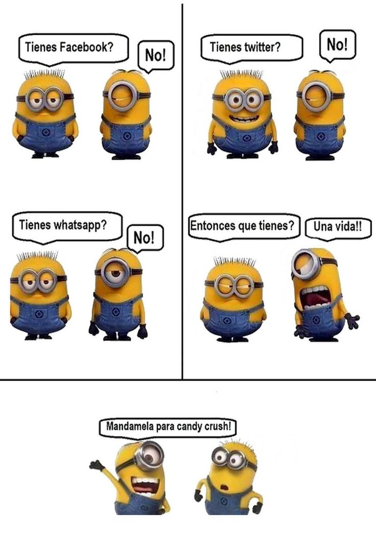 #Redes #Sociales #Minion.