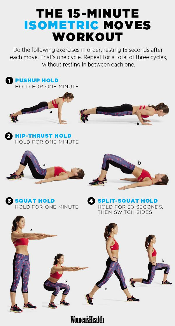 25+ best ideas about Isometric exercises on Pinterest ...