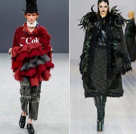 E' Halloween!! Rimandiamo al prossimo lunedì il nostro appuntamento per i costumi dei film e ci dedichiamo alla notte delle zucche.. Prendiamo ispirazione estro-horror dalle sfilate che l'autorevole rivista Vogue Italia seleziona tra i brand più blasonati. Scegliamo Victor & Rolf FW2016 con la sua estrosa haute couture a confronto con il gothic style di Marc Jacobs. Nice!! #infoKonk #Halloween2016 #style