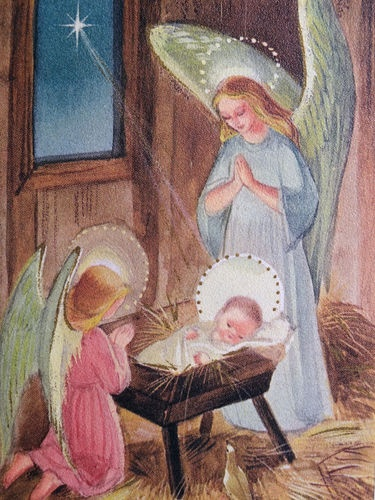 angels and baby Jesus