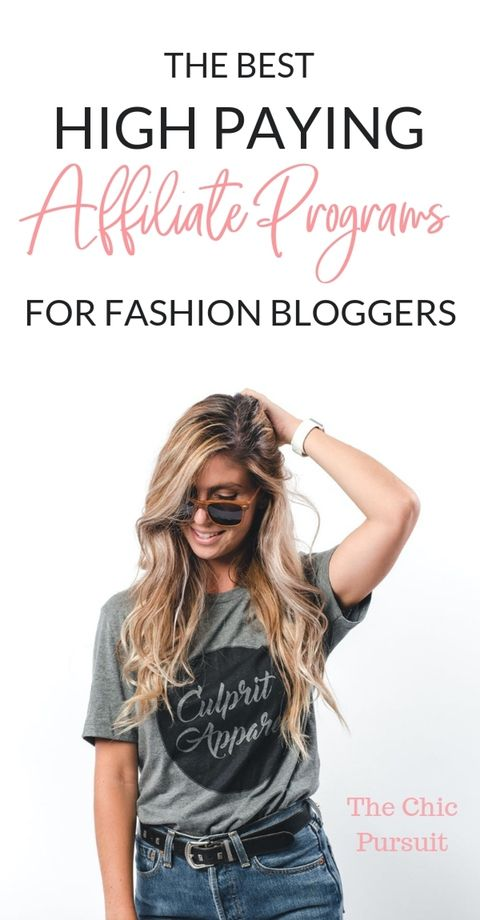 The Best High Paying Affiliate Programs For Fashion Bloggers – Affiliate Marketing