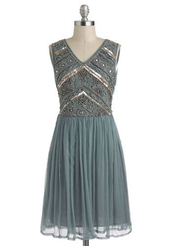 Embellishment to Be Dress, #ModCloth