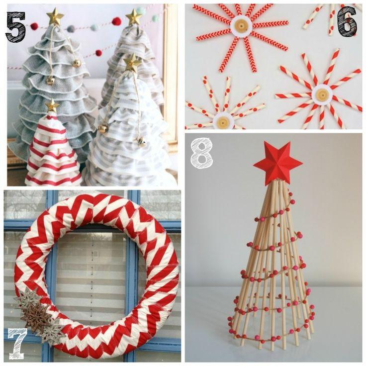 cinco ideas de adornos para decorar la casa en navidad