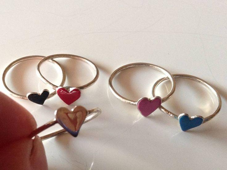silver rings www.etsy.com/shop/PlusLoveStudio