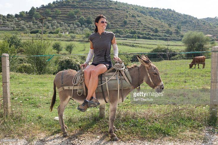 Woman Riding Donkey | Riding, Donkey, Photo