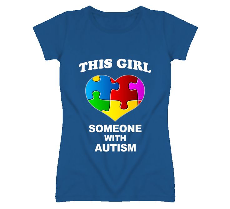 This Girl Love Someone With Autism T Shirt