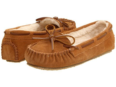 $36.95 Minnetonka Cally Slipper - so comfy and great cheaper alternative to UGG slippers