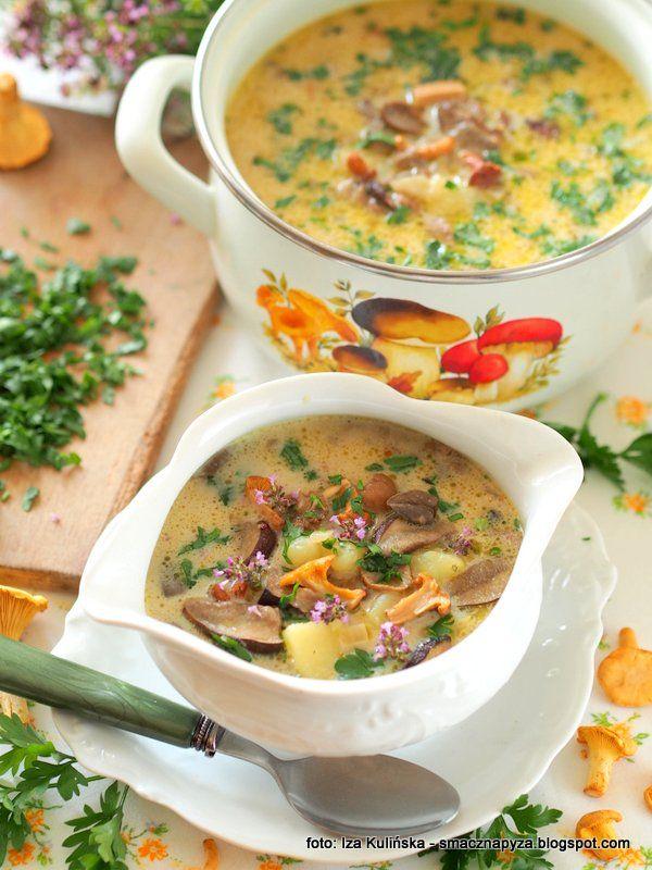 Zupa Grzybowa Recipe Cheeseburger Chowder Soup Food