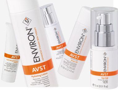 Environ..... Complete Face Kit including AVST Cleansing Lotion, AVST Moisturizing Toner, AVST 1 vitamin cream, AVST Eye Gel, and Environ Sunscreen SPF 25, all in a great tote bag! Over $200 value prize!