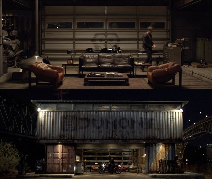 tron legacy shipping container home - Google Search