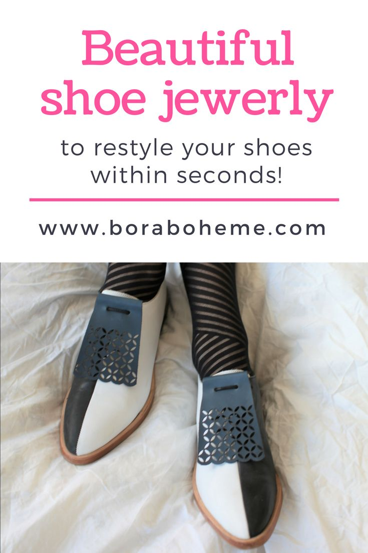 This brand creates accessories to decorate shoes!