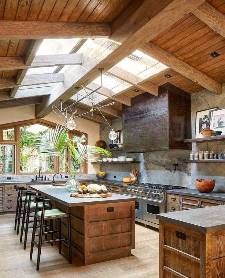 Cozy Kitchen: 20 Cozy Kitchen Designs With Wood Accent In 2019